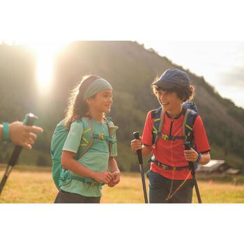 Kids' hiking T-Shirt - MH550 - orange