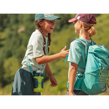 Shortrokje voor wandelen kinderen MH100 grijs/roze