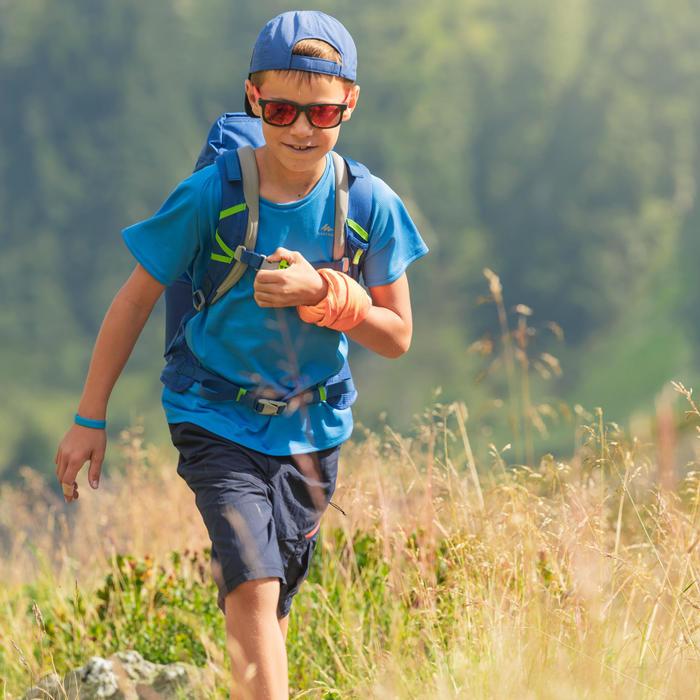Hoofdband voor kinderen MH500 blauw/oranje