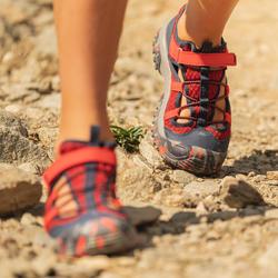 Sandales de randonnée MH150 TW rouges - enfant - 28 AU 39