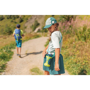 Saia-calção de Caminhada Criança MH100 7-15 anos Turquesa