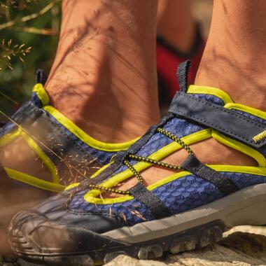 sandales ventilées