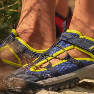ventilerende sandalen