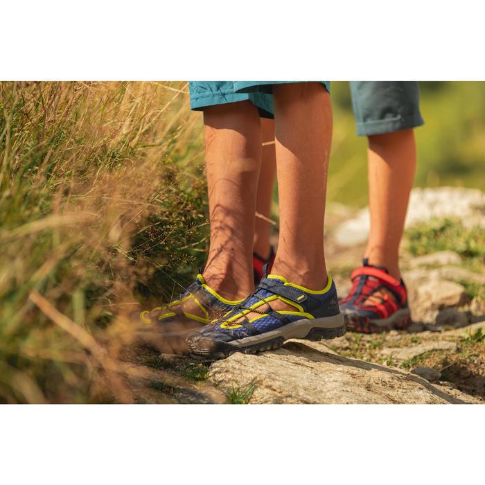 Sandales de randonnée MH150 TW bleues - enfant - 28 AU 39