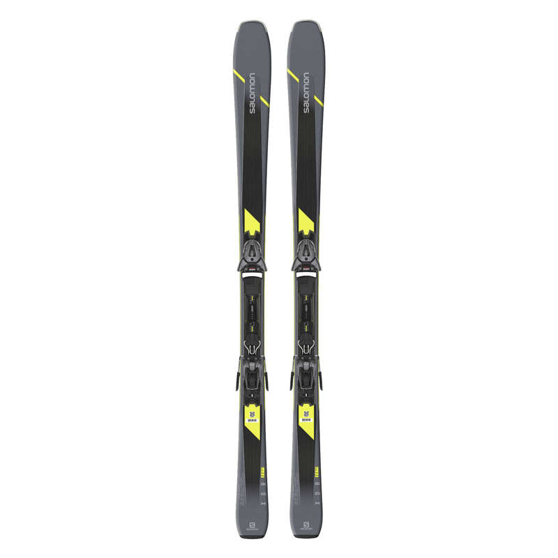 МУЖСКИЕ ГОРНЫЕ ЛЫЖИ И ПАЛКИ, ЭКСПЕРТНЫЙ УРОВЕНЬ Горнолыжный спорт - Горные лыжи Salomon XDR 80 SALOMON - Горные лыжи