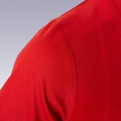 Maillot de football enfant manche courte F500 Rouge