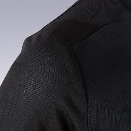 """Vaikiški trumparankoviai futbolo marškinėliai """"F500"""", paprasti juodi"""