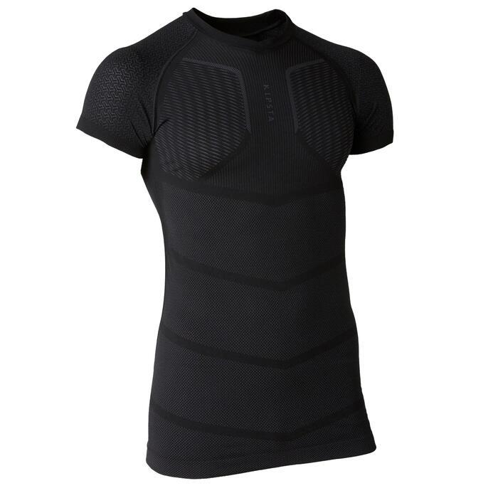 成人款短袖底層衣Keepdry 500-黑色