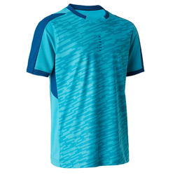 Voetbalshirt kind F520 turquoise/blauw