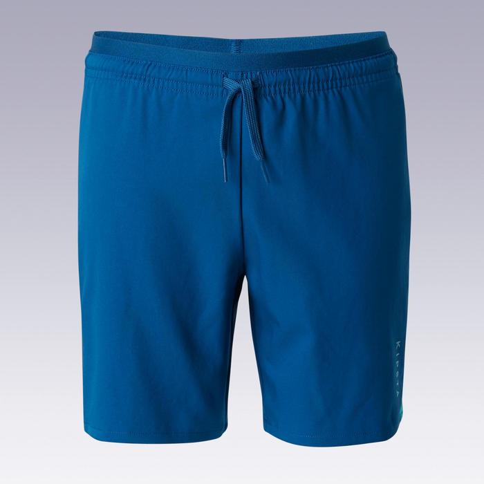 Kids' Football Shorts F520 - Blue/Turquoise