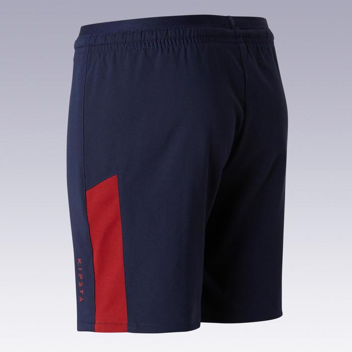 Short de football enfant F520 marine et bordeaux