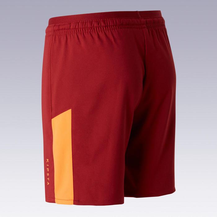 Voetbalbroekje kind F520 bordeaux/oranje