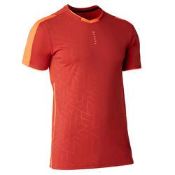 Voetbalshirt voor volwassenen TRAXIUM rood
