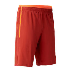 Short de football adulte 3 en 1 TRX rouge