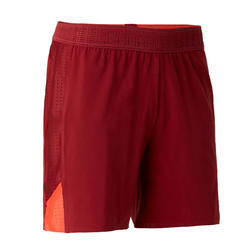 Short de football femme F900 rouge bordeaux