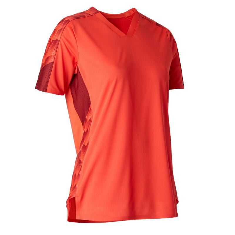 Camiseta de Fútbol Kipsta F900 Mujer Rojo
