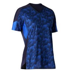 Voetbalshirt dames F900 blauw