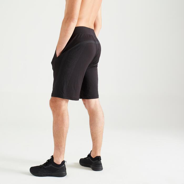 Short Seamless cardio fitness training homme FST 900 noir