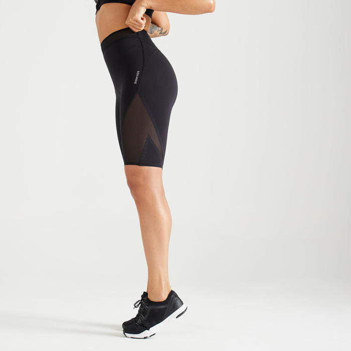 921 Women's Fitness Cardio Training Shorts - Black