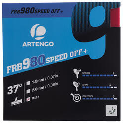 Tafeltennis rubbers FRB 980 Speed 97°