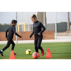 Kids' Hard Ground Football Boots Agility 900 HG - Blue/Orange