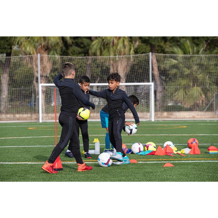 Kids' Football Training Bottoms TP 500 - Black/Grey