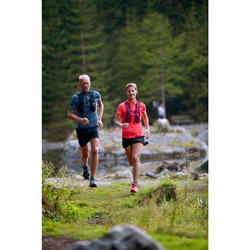WOMEN'S TRAIL RUNNING SKORT - BLACK/BRONZE