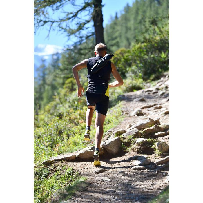 Laufschuhe Trail Race 4 Herren schwarz/gelb