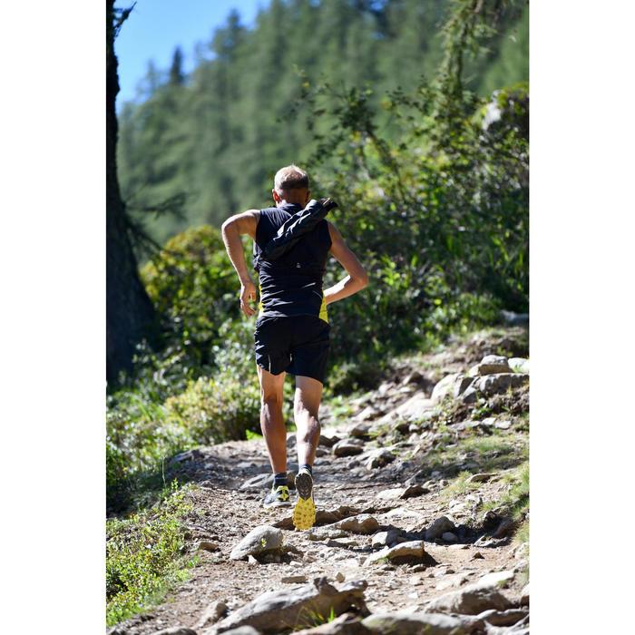 Trailschoenen voor heren Race 4 zwart/geel