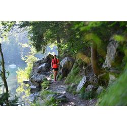 Dinkrugzak voor trail 5 liter roze/bordeaux