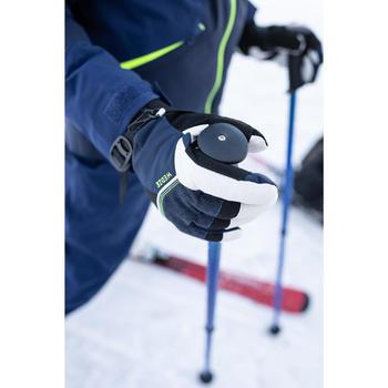 Ski-jas voor kinderen 900 marineblauw/geel