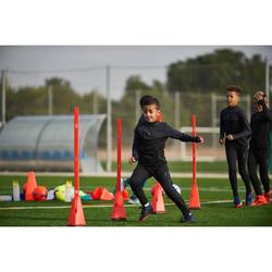 Verzwaarde kegels voor voetbaltraining Modular 30 cm oranje set van 4