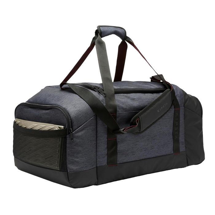 Voetbaltas / Sporttas Academique 75 liter zwart/bordeaux