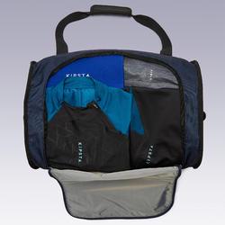 Tas op wieltjes trolley Essentiel 30 liter blauw en zwart