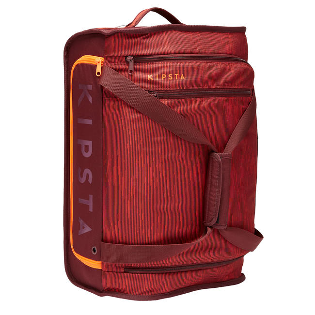 30L Wheeled Suitcase Essential - Burgundy