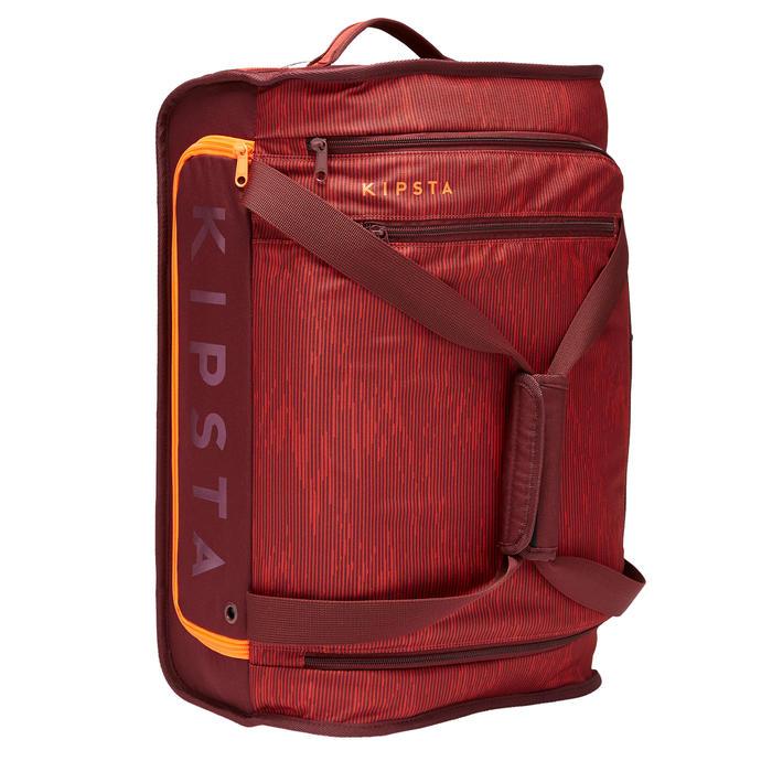 Sac à roulettes trolley - valise Essentiel 30 litres bordeaux