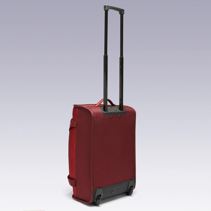 Tas op wieltjes trolley Essentiel 30 liter bordeaux