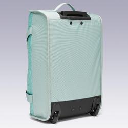 Sac à roulettes trolley - valise Essentiel 30 litres verte claire