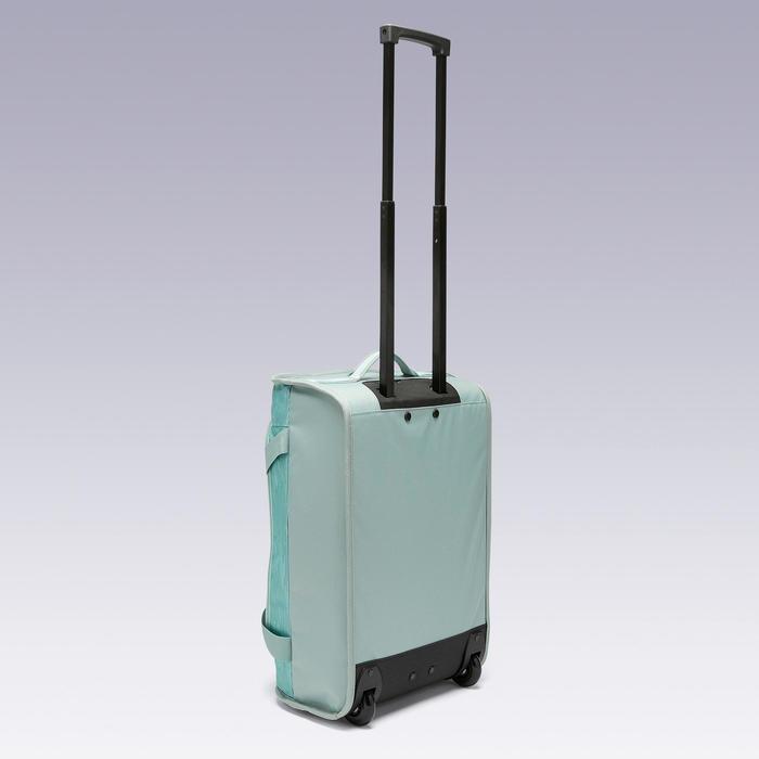 Tas op wieltjes trolley Essentiel 30 liter lichtgroen
