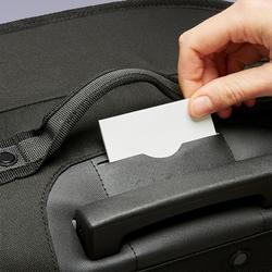 Sac à roulettes trolley - valise Essentiel 70 litres grise et noire