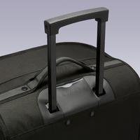 Maleta con ruedas trolley Essentiel 70 litros gris y negro