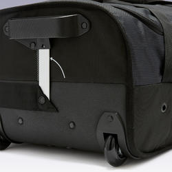 Trolley sporttas Essentiel 70 liter grijs/zwart