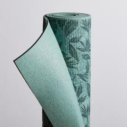 8 mm舒緩瑜珈墊Comfort - 綠葉印花