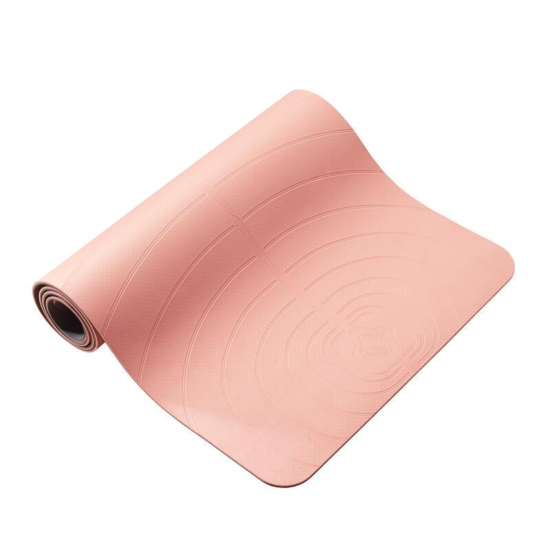 Light Gentle Yoga Mat Club 5 mm - Coral