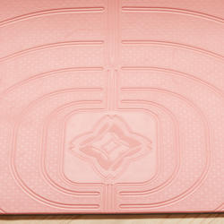 Light Gentle Yoga Mat Club 5 mm - Coral