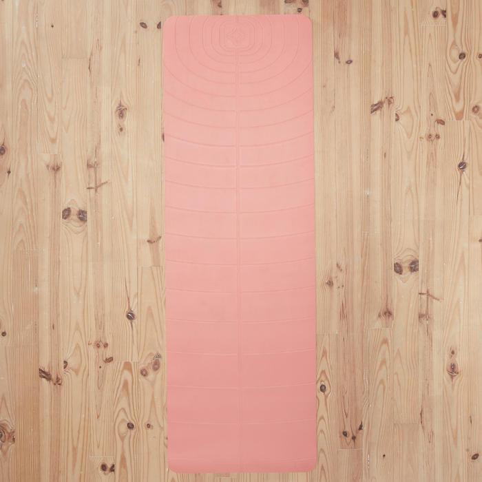 輕盈舒緩瑜珈墊5 mm - 珊瑚紅