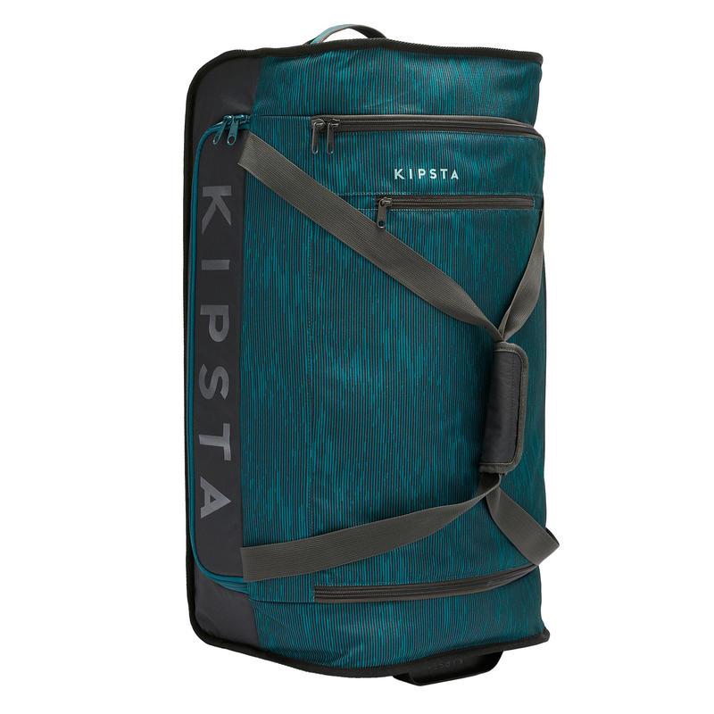 70L Bag Essential - Green/Grey