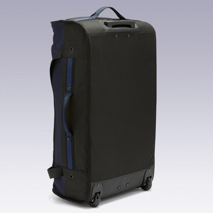 Valise Essentiel 70 litres noire et bleue marine