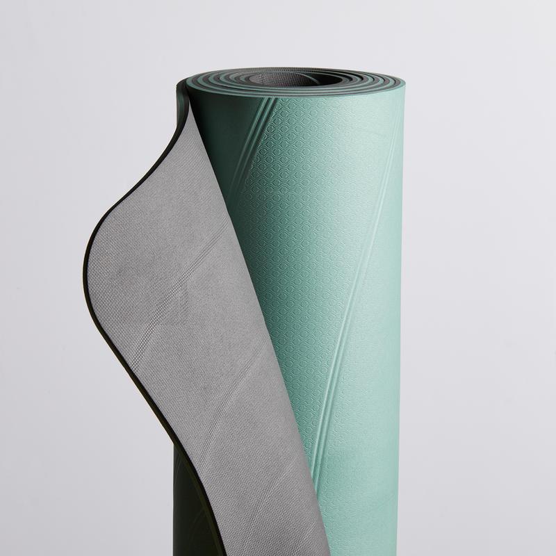 XL Gentle Yoga Mat 5 mm - Green