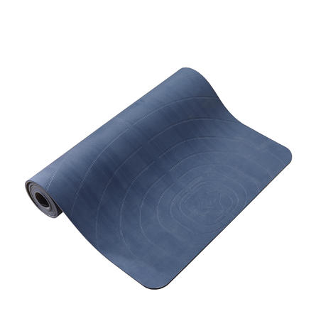 XL Gentle Yoga Mat 5 mm - Blue